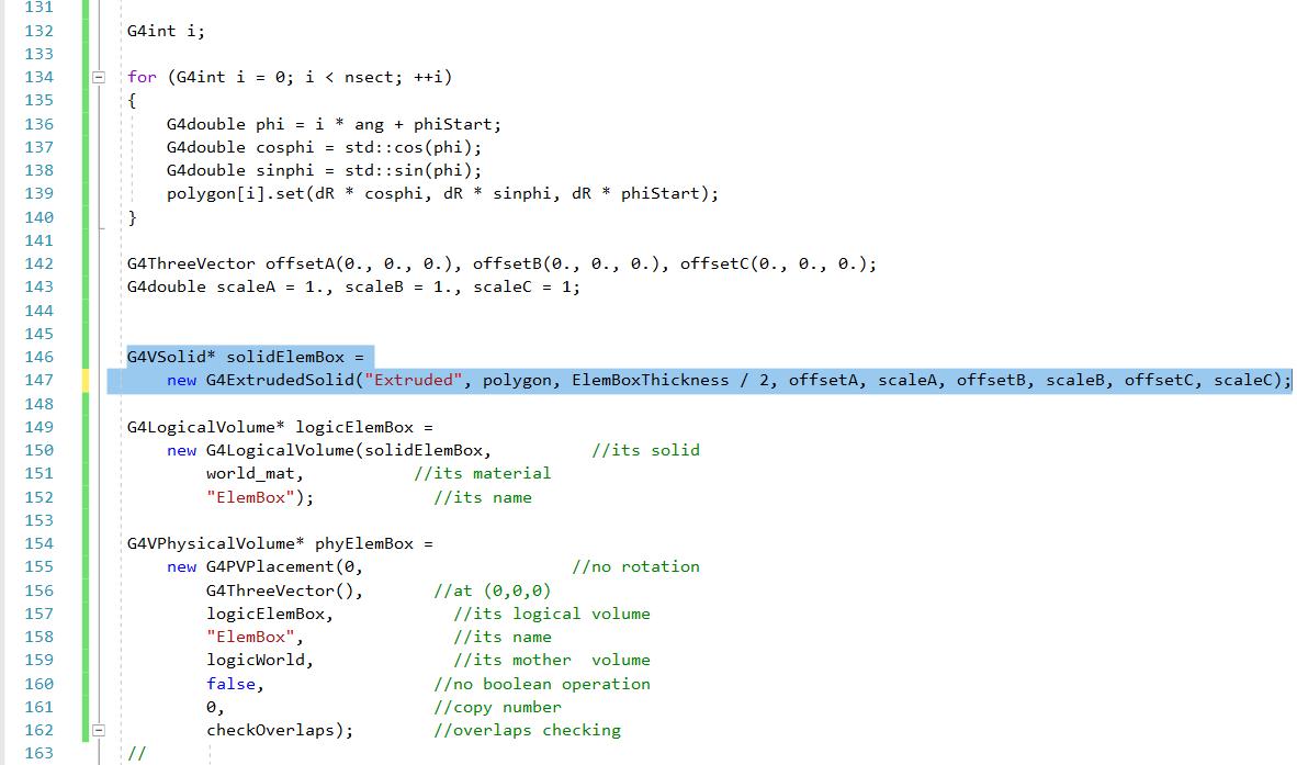 Hexagonal code
